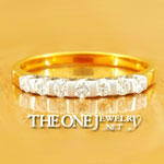 Theonejewelry แหวนเพชร แหวนคู่ แหวนแต่งงาน ต่างหูเพชร คุณภาพสูง