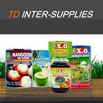 TD Inter supplieds จำหน่ายอาหารสำเร็จรูป ผลไม้แปรรูป ผลไม้กระป๋อง