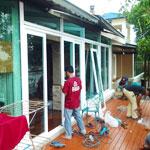 บริการผลิตและติดตั้ง ประตู หน้าต่างอัจฉริยะ (UPVC) และอลูมิเนียม
