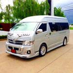 VAN-KONGTUP บริการรถตู้ให้เช่าเที่ยวทั่วไทย รับ-ส่งพนักงาน บริการให้เช่ารถ