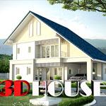 แบบบ้านรุ่นใหม่ ราคาพิเศษปรึกษา ฟรี  3D HOUSE 2011