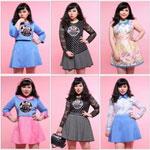 จำหน่ายเสื้อผ้าแฟชั่นสาวอวบดีไซน์เก๋ๆ จากประเทศเกาหลีและญี่ปุ่น