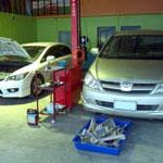 ศูนย์บริการซ่อมรถยนต์ โดยช่างผู้ชำนาญจากศูนย์บริการ มากกว่า 18 ปี