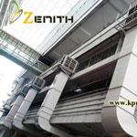 Zenith รับออกแบบและติดตั้งพัดลมไอเย็น เครื่องทำลมเย็น เครื่องลดอุณหภูมิ